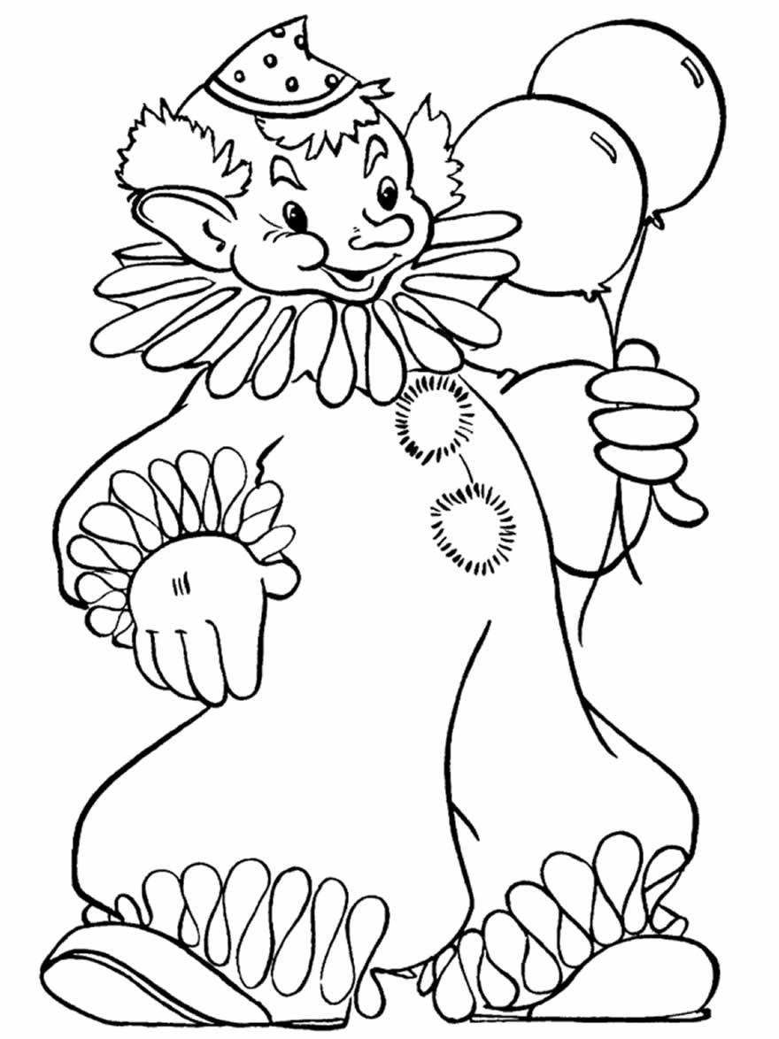 Desenhos lindos de palhaços