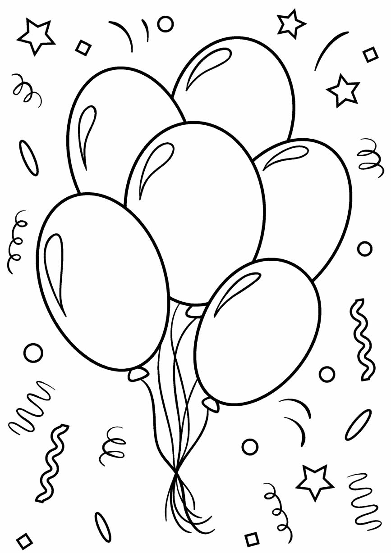 Desenho de balões