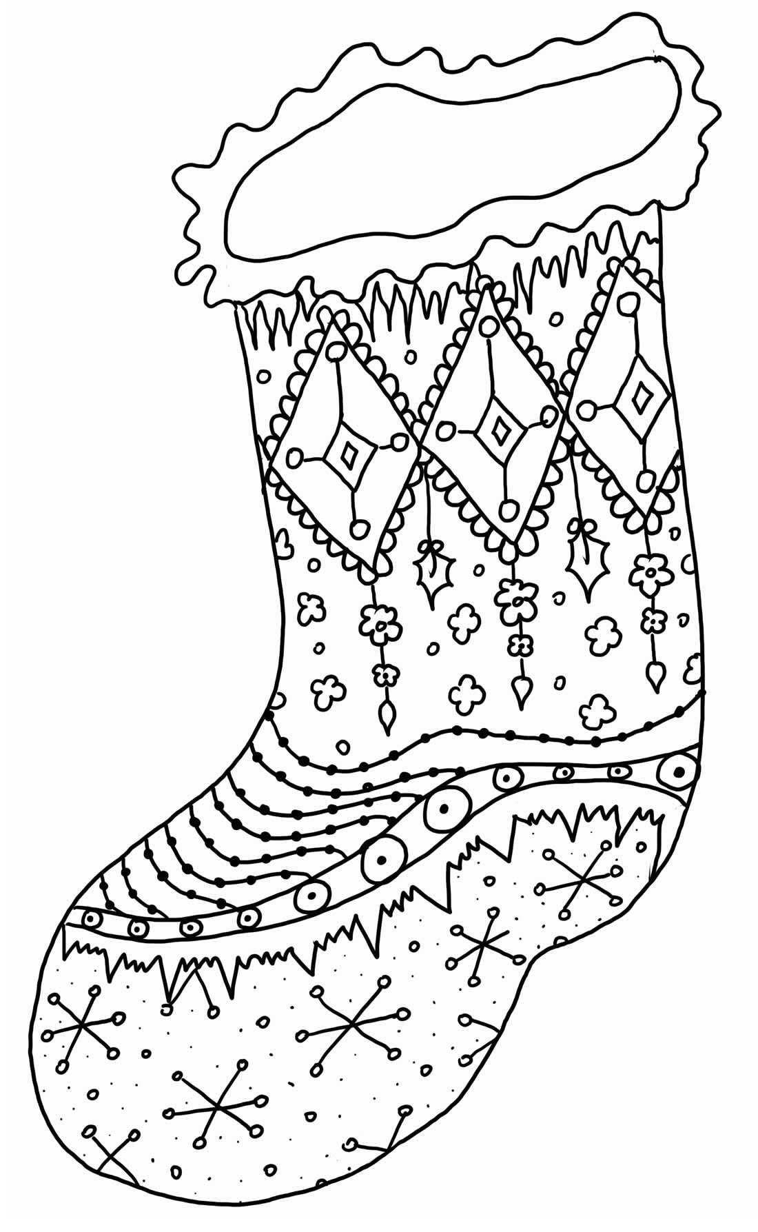 Imagem de Natal para colorir