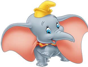 Desenhos para colorir de Dumbo
