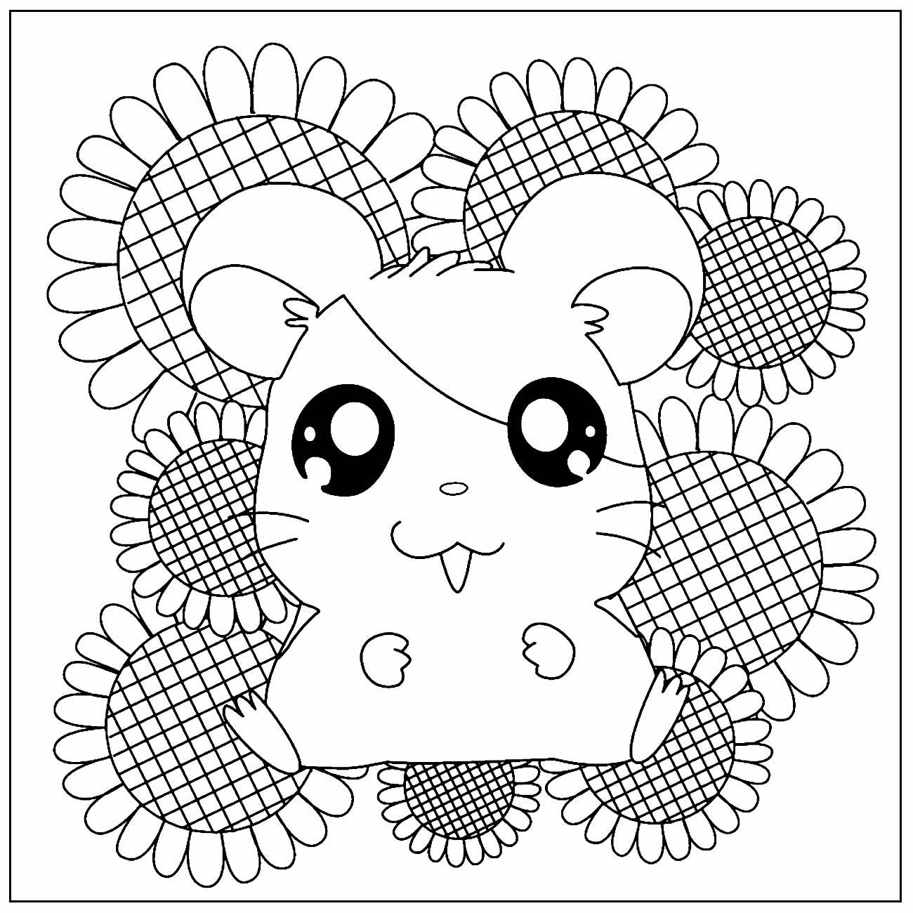 Desenhos para pintar de Hamtaro