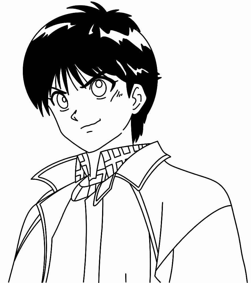 Desenhos de Yu Yu Hakusho para pintar