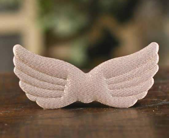 Asas de anjo em feltro