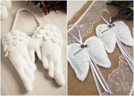 Moldes de asas de anjinho