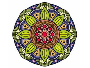Desenhos lindos para colorir de Mandala