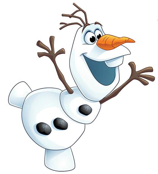 Desenho de Olaf