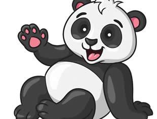 Desenhos de Panda para colorir