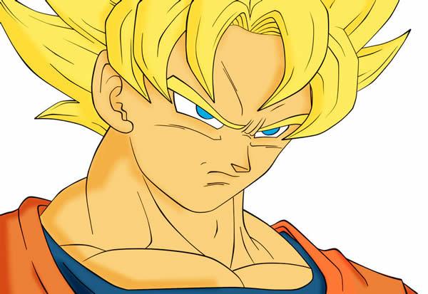 Desenho do Goku
