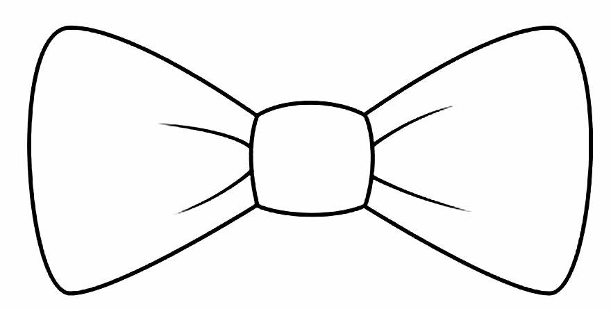Molde de laço de papel