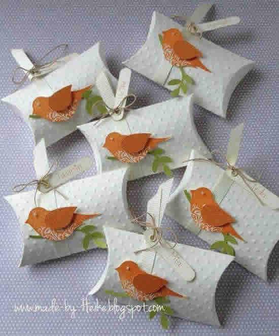 Lindas lembrancinhas com rolo de papel higiênico