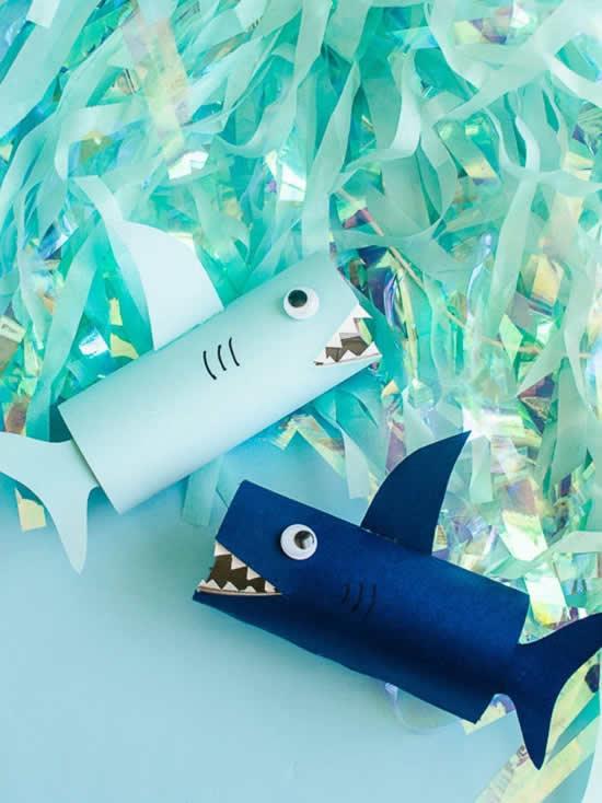 Artesanatos fofinhos com rolo de papel higiênico