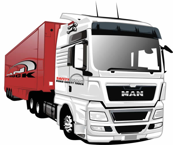 Desenho de Caminhão
