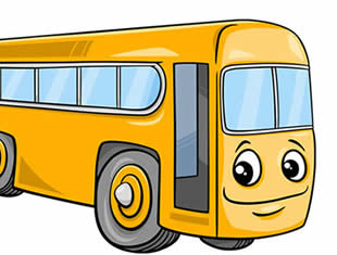 Desenhos para colorir de Ônibus