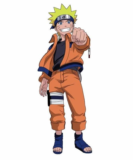 Desenho de Naruto