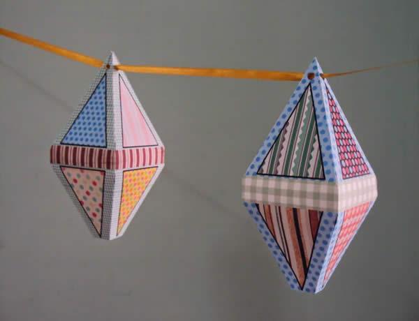 Balão de papel para Festa Juinna