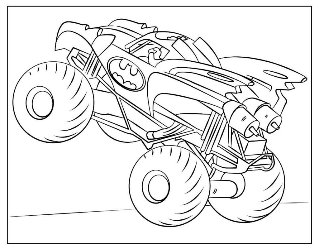 Desenho de Picape para colorir