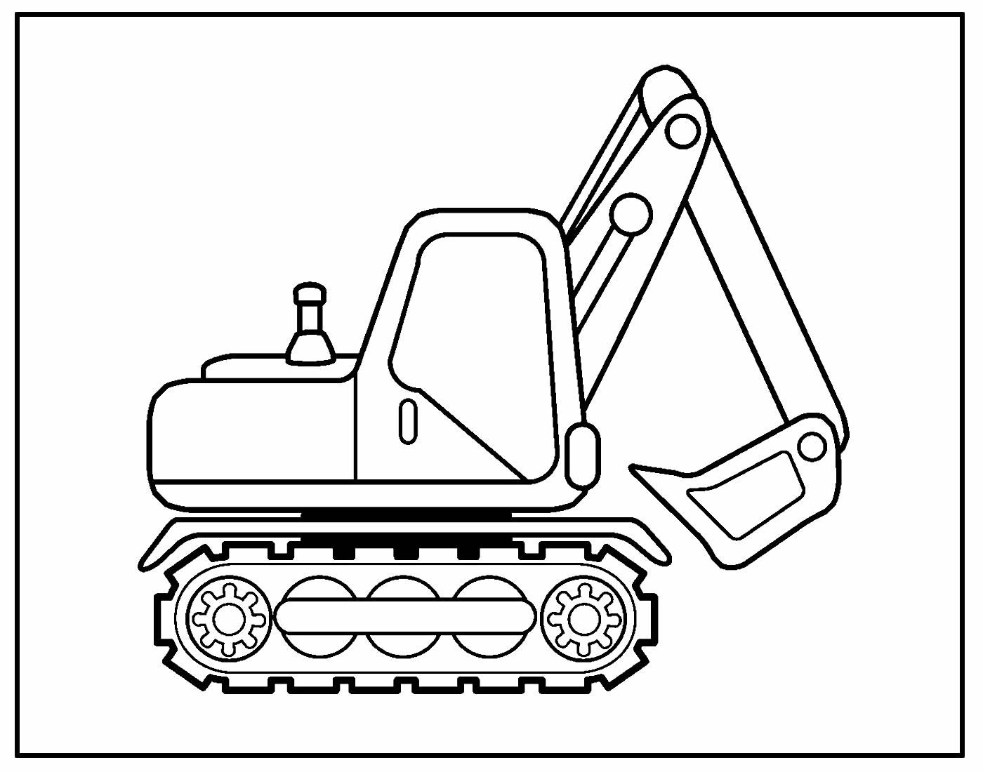 Desenho para pintar Caminhão