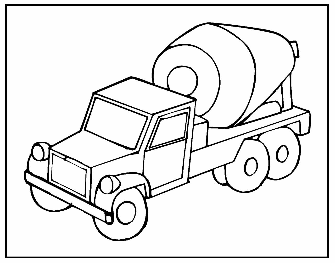 Página para pintar Caminhão