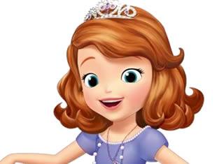 Desenhos da Princesa Sofia para pintar e colorir